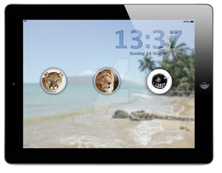 iPad Lockscreen more users!
