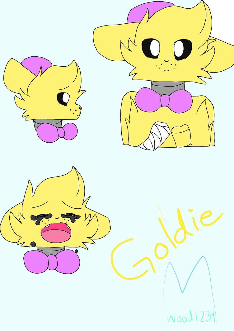 Golden Freddy ref. by Maplewood1234