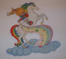 rainbow brite cross stitch