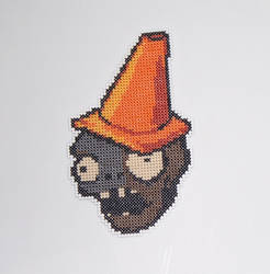 Road Cone Zombie Magnet
