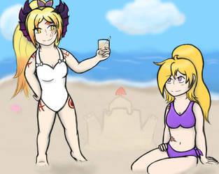 Summer of the Summoner by HikariLatias