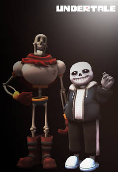Undertale - Bone Bros