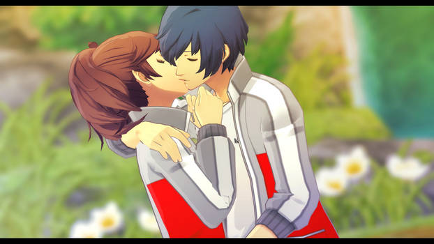 p3p protag kisses (1/3)