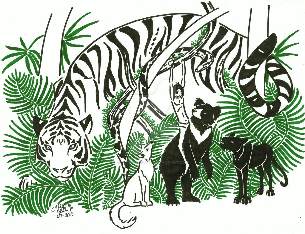 The Jungle Book by Author-To-Be