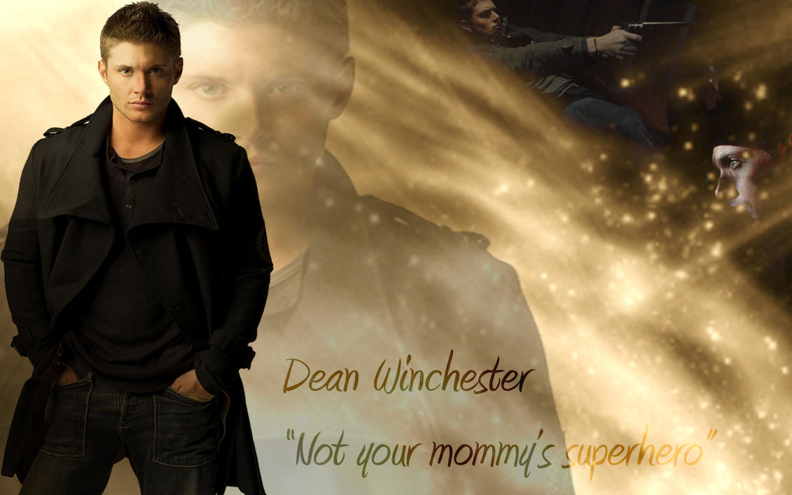 Supernatural Dean Wallpaper by Neal2k on DeviantArt