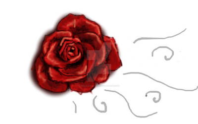 Rose - Track pad digital art