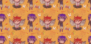 angel and imp pattern