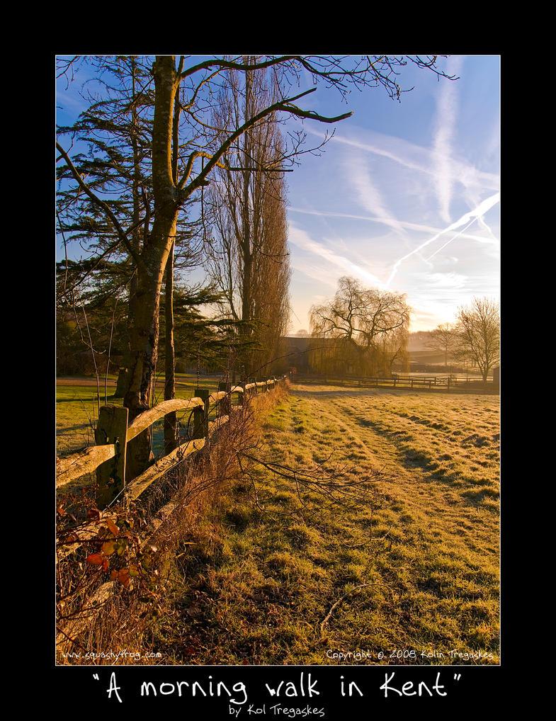 A morning walk in Kent by koltregaskes