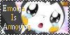 Emolga Dislike Stamp by PurelyWhiteButterfly