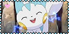 Pachirisu Fan Stamp by PurelyWhiteButterfly