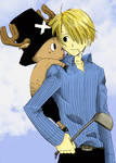 Sanji and Chopper