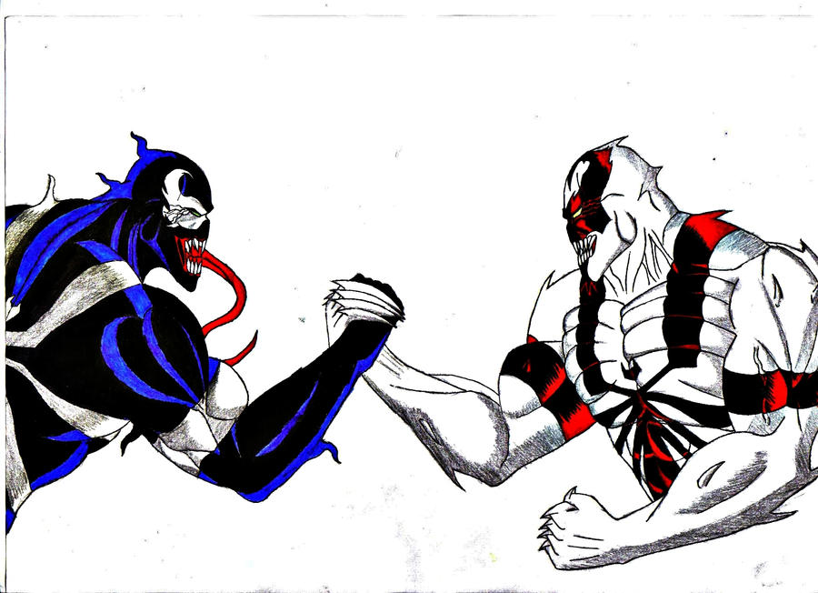 AntiVenom vs Venom by DarkChildOfHell on DeviantArt