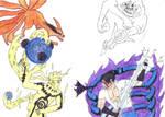 Naruto vs sasuke upgraded