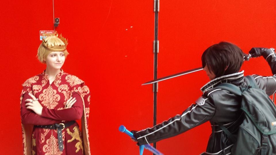 Kirito vs Joffrey! by CC-Lolita