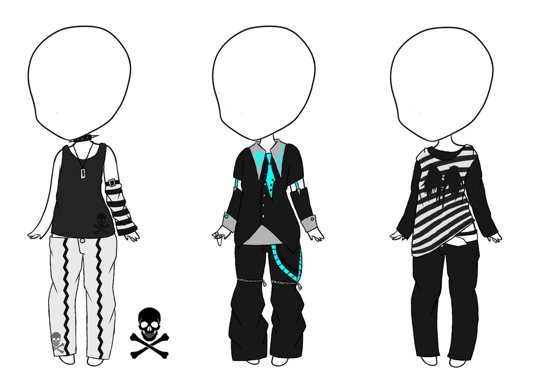 Manga Tomboy Outfits Adrian Outfits ...