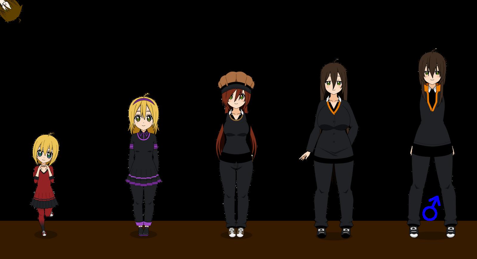 Manga Tomboy Outfits Age Thingy {kis...