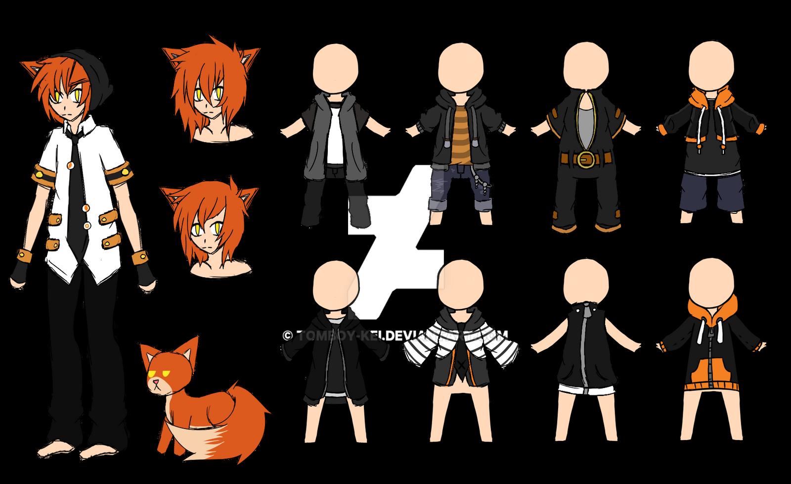 Manga Tomboy Outfits Points {charact...