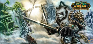 Pandaren Battlemaster by Omar-Atef