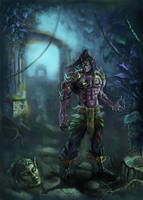Illidan Stormrage by Omar-Atef