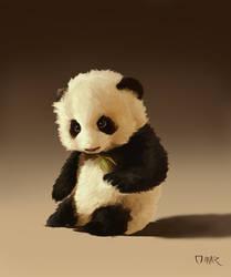 Panda by Omar-Atef