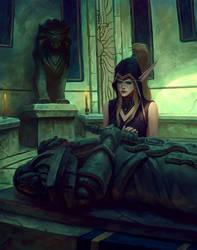 Shorel'aran my king by Omar-Atef