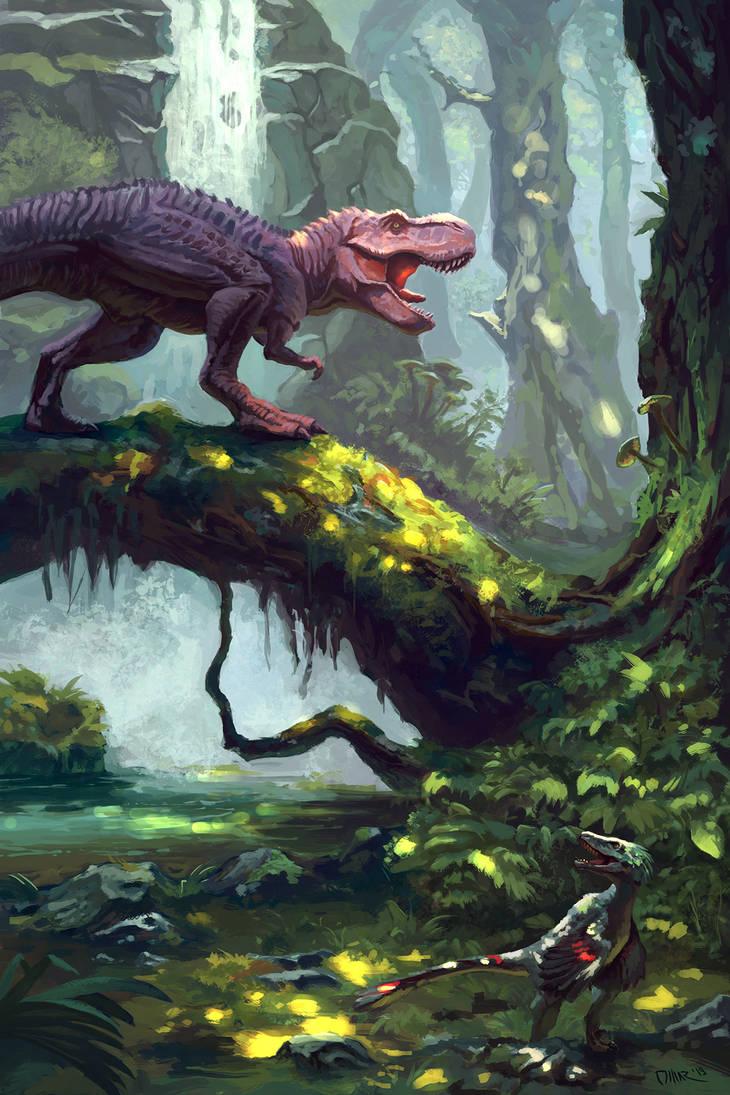 Dino Illustration by Omar-Atef