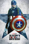 Steve Rogers Captain America: FATWS Poster Cosplay by FoammX