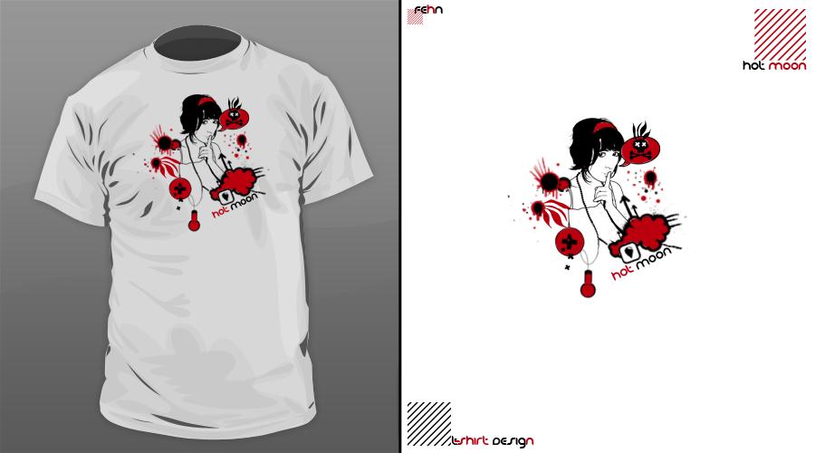 t-shirt design11. by sinnet1