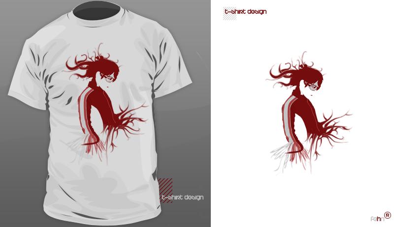 t-shirt design3. by sinnet1