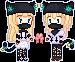 Pixel Sucrette and Sucretto