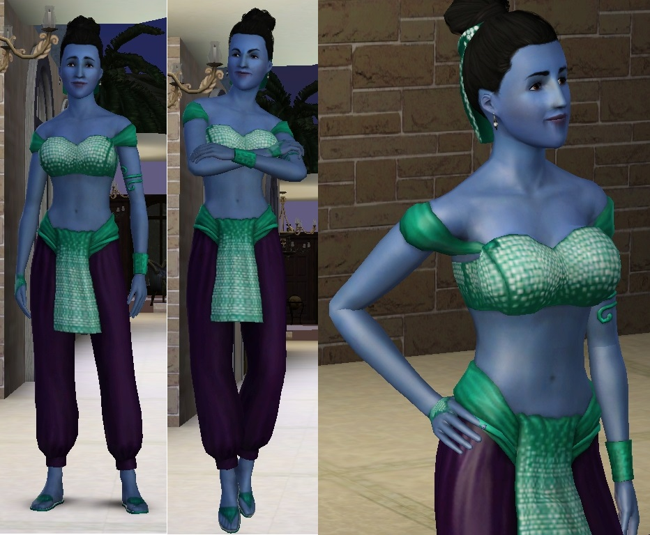 Sims 3 - Genie 4 by dspprince on DeviantArt