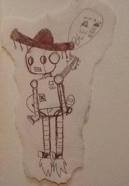 mariachi-bot by potito-chan
