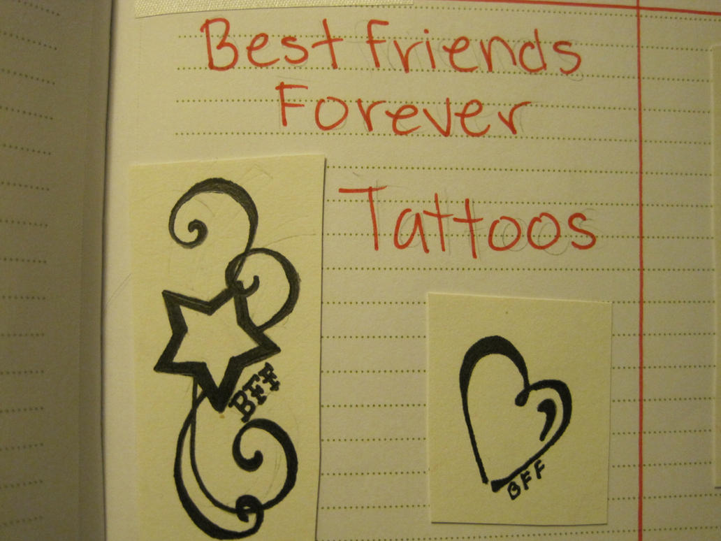 Emejing 3 best friends tattoos pictures style and ideas best friend tattoo design 3 4 by cowgirl145 on deviantart buycottarizona