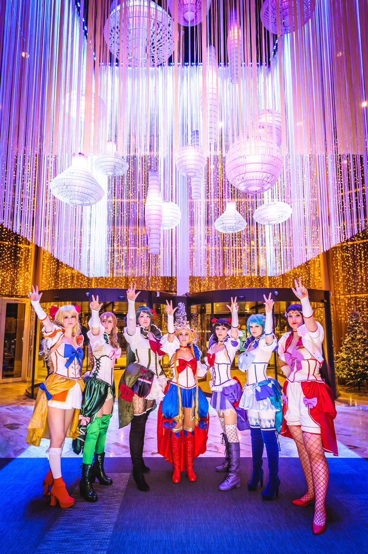Sailor Senshis Unite! by enjoithis
