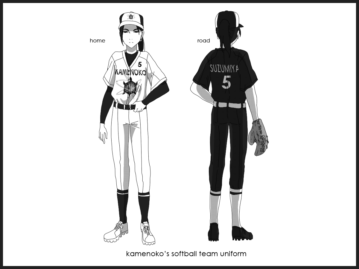 KU: Softball team uniform by Betachan