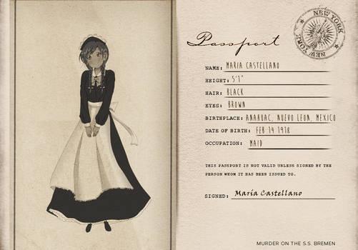 KU: Murder on the SS Bremen: Maria Castellano