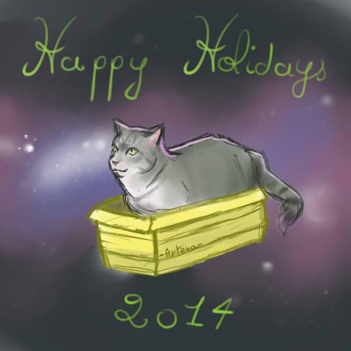 Happy Holidays :3 by KiashiChan