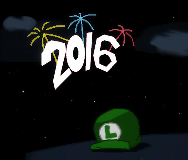 Happy New Year! by luigikirby64