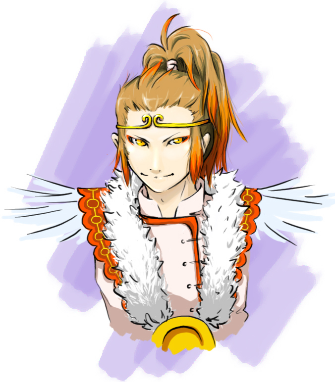 MonkeyKing Colored by Feylore