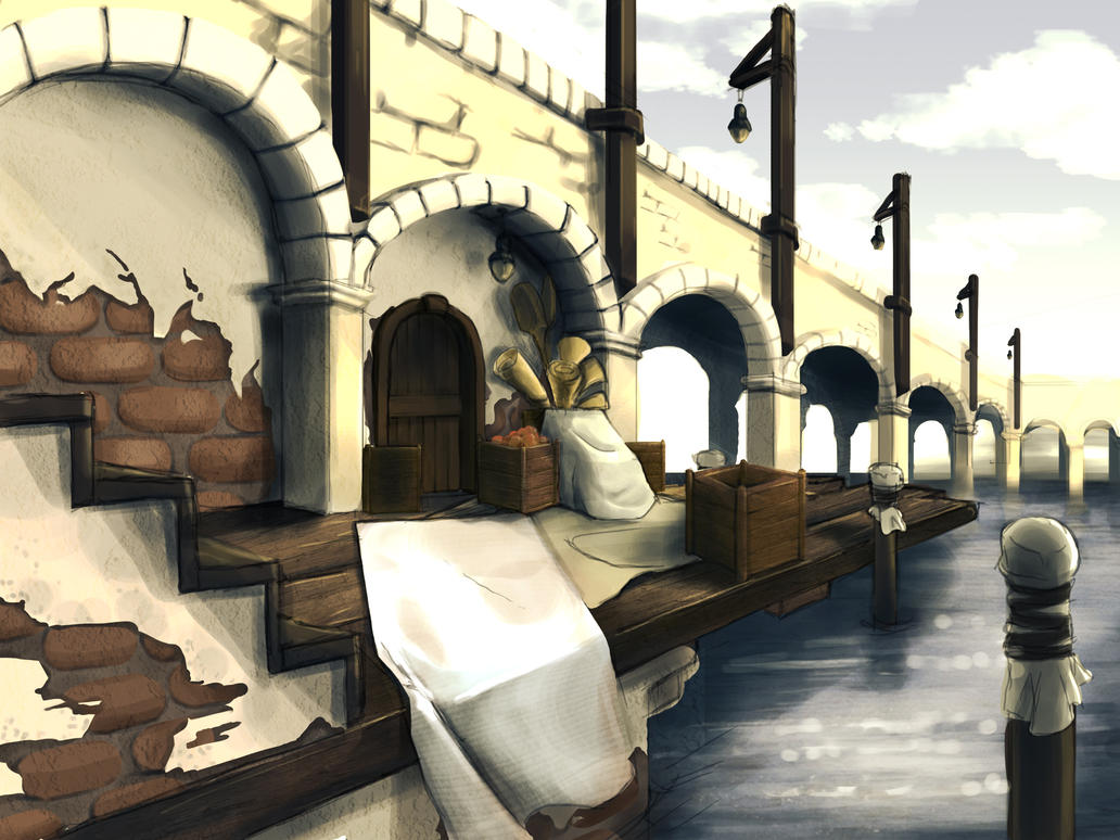 Bridge Concept by Feylore