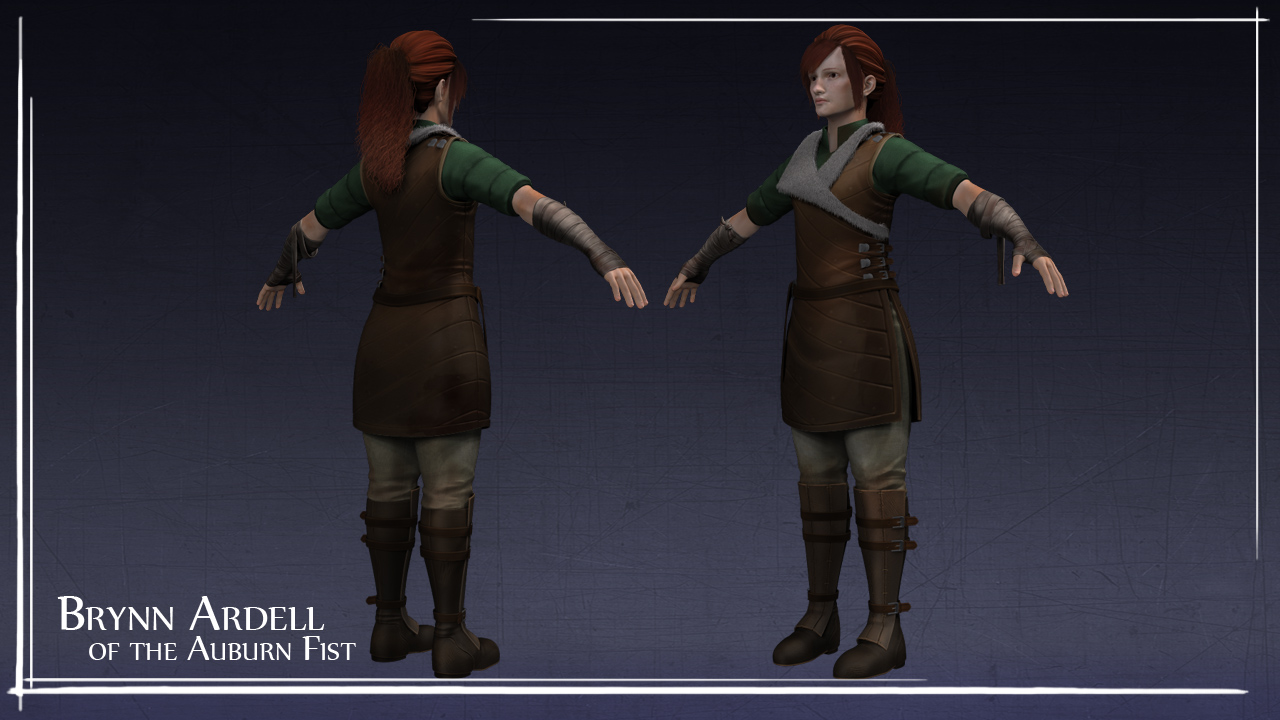 Brynn Ardell Character Model by Feylore