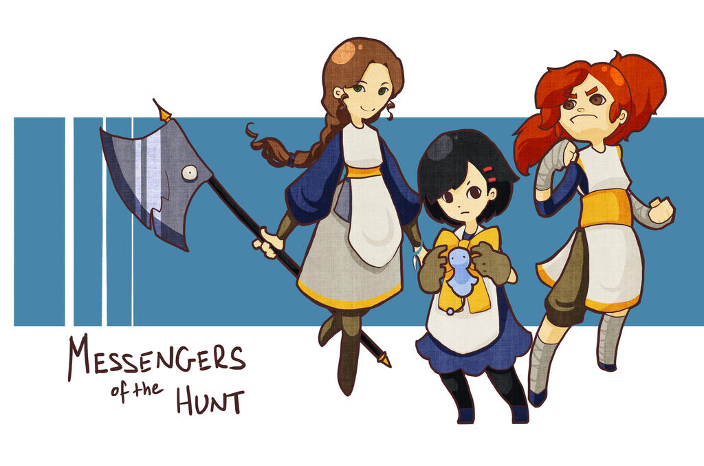Messengers of the Hunt: Mirician Style by Feylore