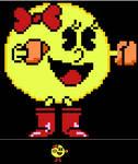 Ms. Pac-man pixelart