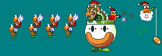 Santa Bowser by AnimeFur