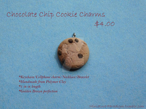 Chocolate Chip Cookie Charms!