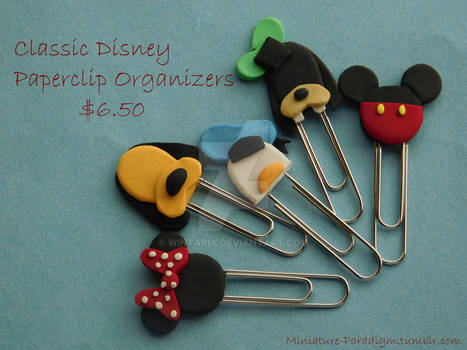 Disney Bookmarks