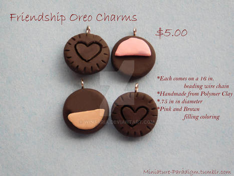 Oreo BFF Necklace Charms