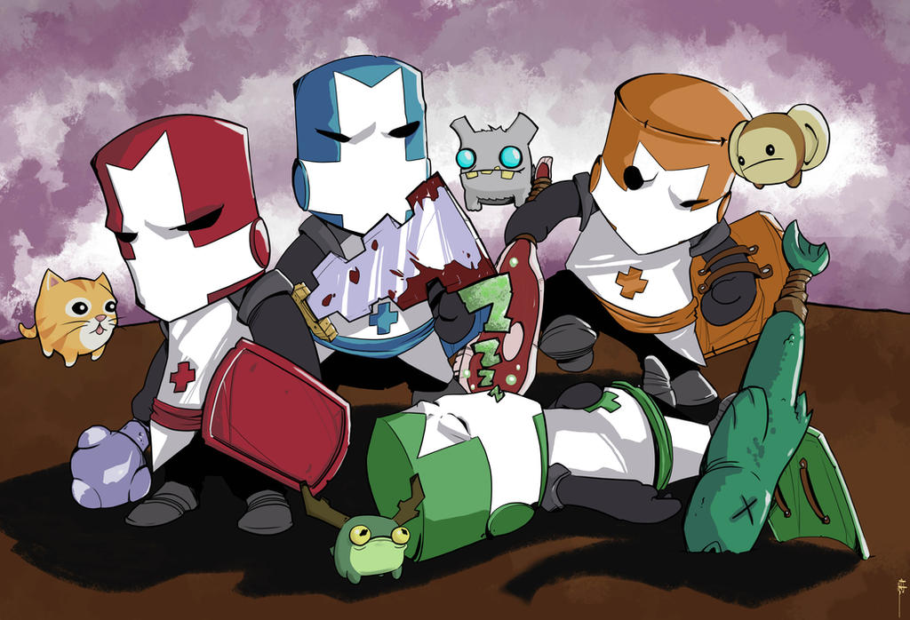 Castle Crashers by MeaT-Artworx