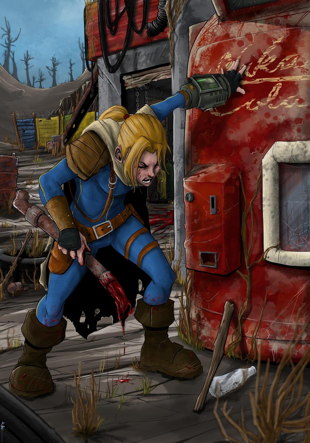 MOAR Fallout 4!!! by MeaT-Artworx