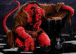 HellBoy and Cat